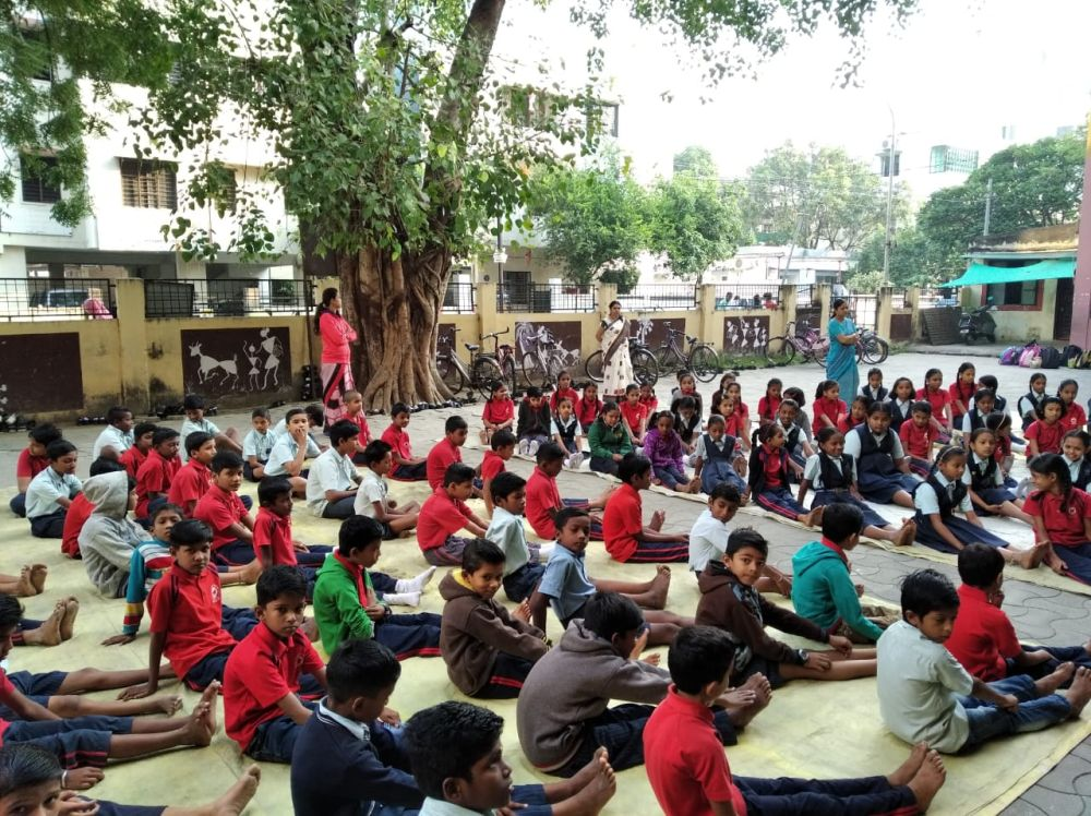 Pratap-Nagar-School-6th-7th-class-Inter-School-Yoga-Competition-training-2019