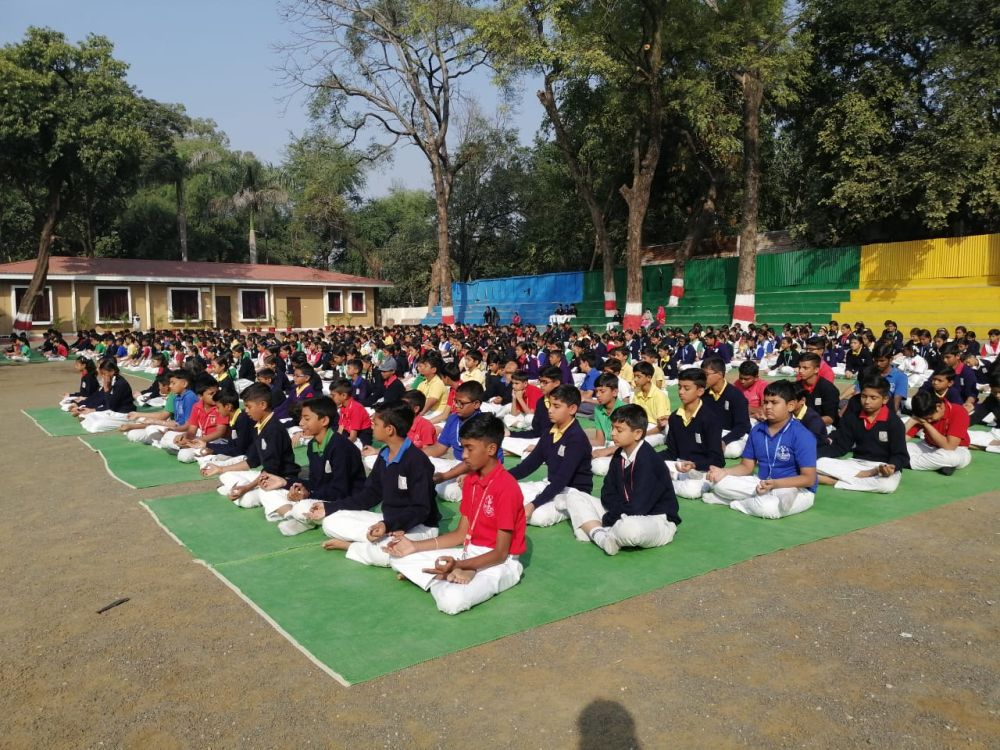 BKVV-telangkhedi-27-12-19-Inter-school-yoga-competition-training-2019-2