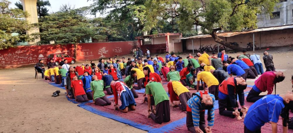 Madangopal-Agrawal-School-21-12-19-Inter-school-yoga-competition-training-2019