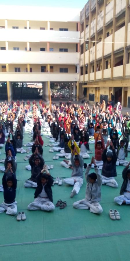Keshav-Nagar-Vidyalay-Jagnade-Chowk-11-1-20-Inter-school-yogasan-competition-training-2019