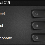A beautiful graphical user interface script