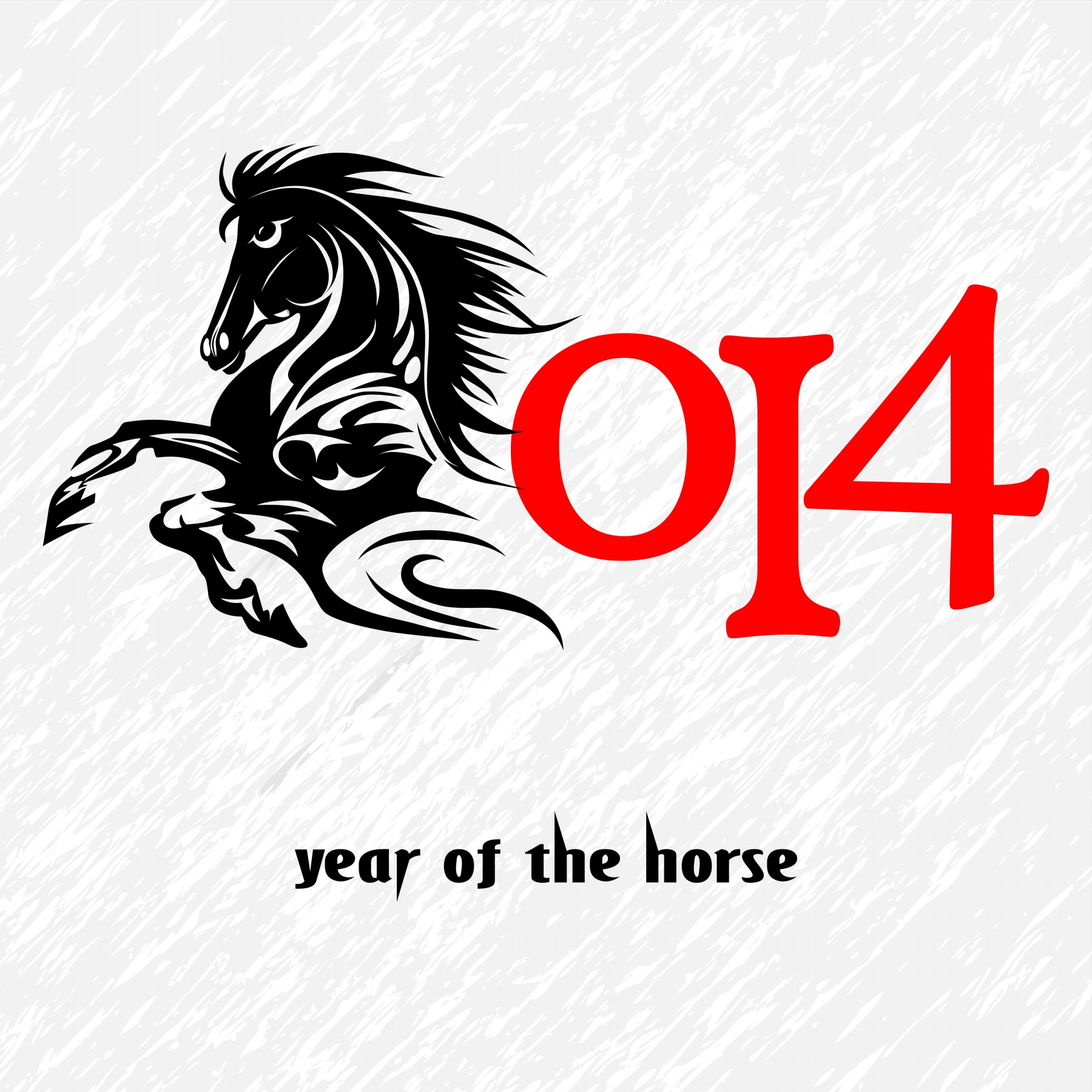 Chinese New Year Horse 7