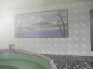 吉田温泉富士山