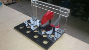 Rimless frag holder - Frag Racks