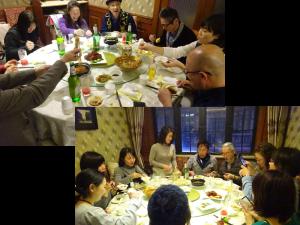 JTCVM国際中獣医学院日本校上海中医学研修ツアー|07_夕食