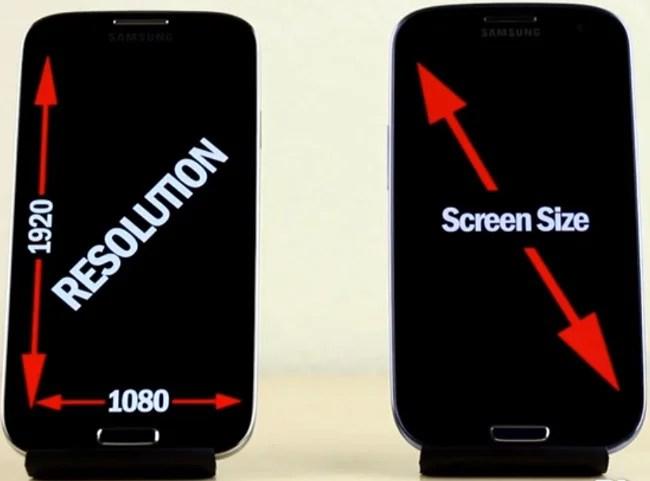 différences entre écrans 1080p et 720p