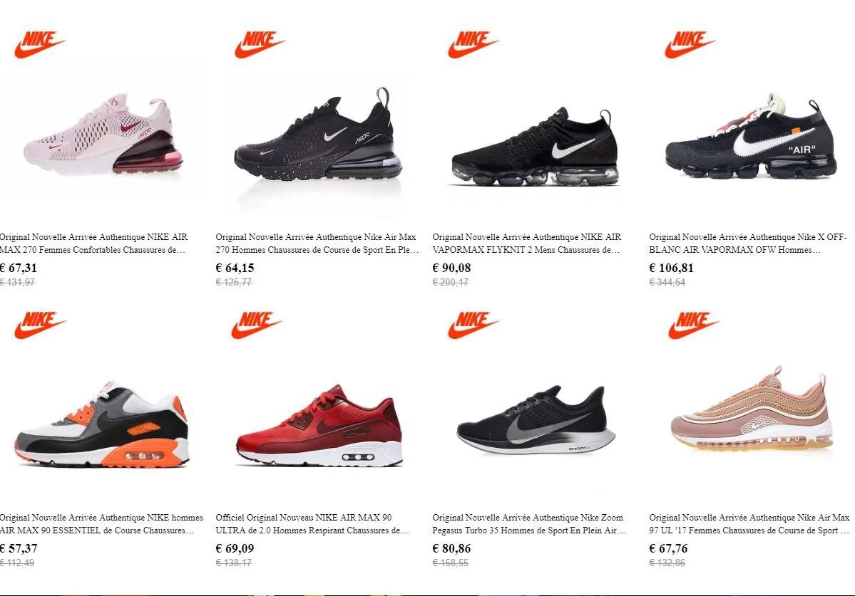 Acheter des Nikes et Adidas Directement en Chine via aliexpress