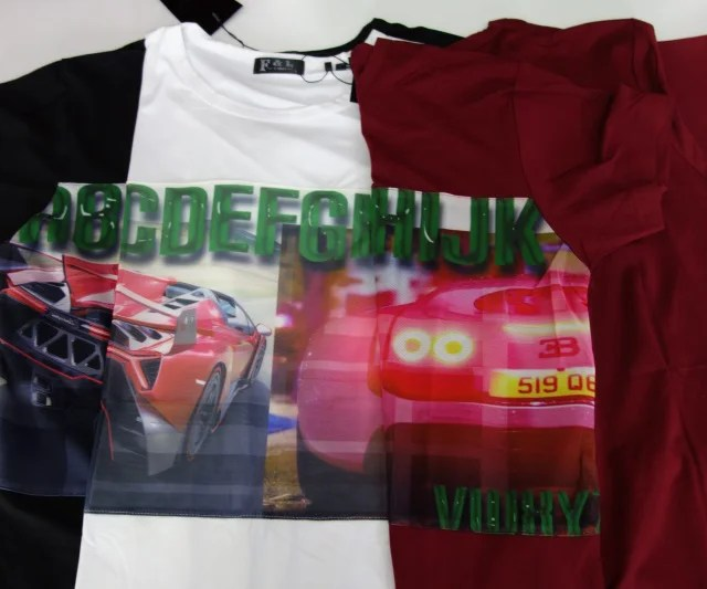 t-shirt-sport-car-korean-coton
