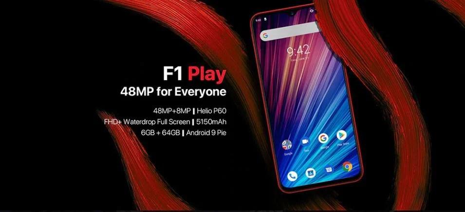 Umidigi F1 Play 48Mp, encore mieux que le Umidigi F1 pour 200€ ?