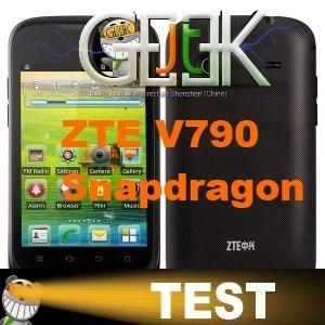 ZTE V790 Snapdragon Test
