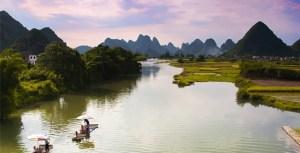 photo du fleuve Miluo