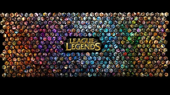 affiche du jeu league of legends