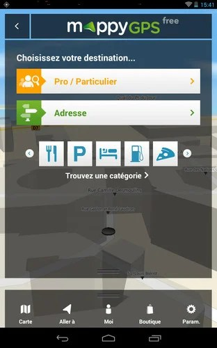carte mappy gps free europe