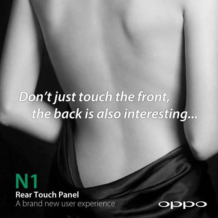 oppo n1 rear touchpad panel