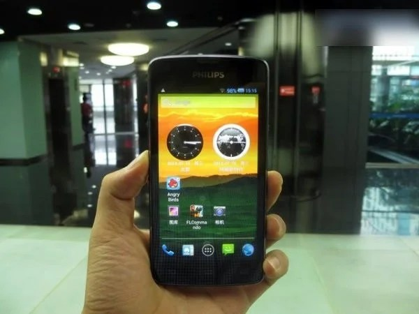 smartphone android philips w8510