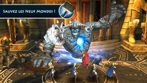 capture d'écran du jeu android thor lmdt