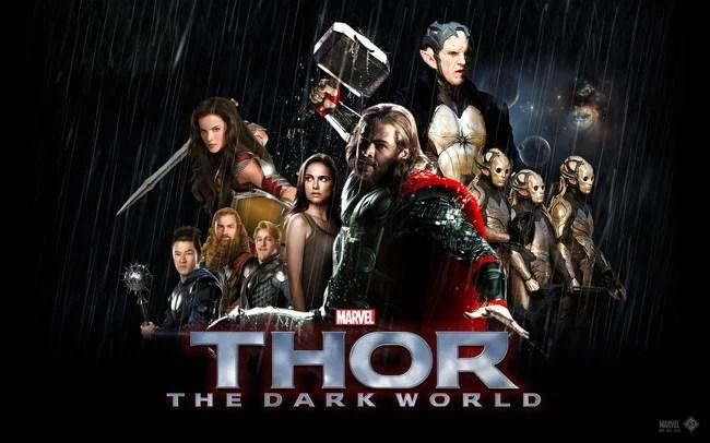 affiche du film thor the dark world