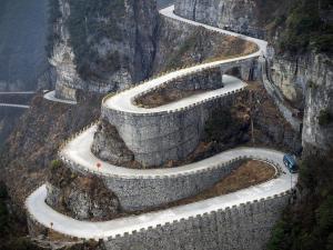 tianmen route