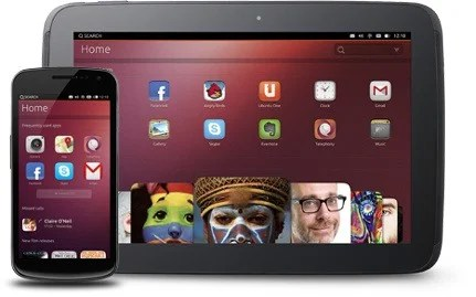smartphones et tablettes sous Ubuntu Touch