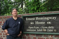 Author at The Author's home in Key West