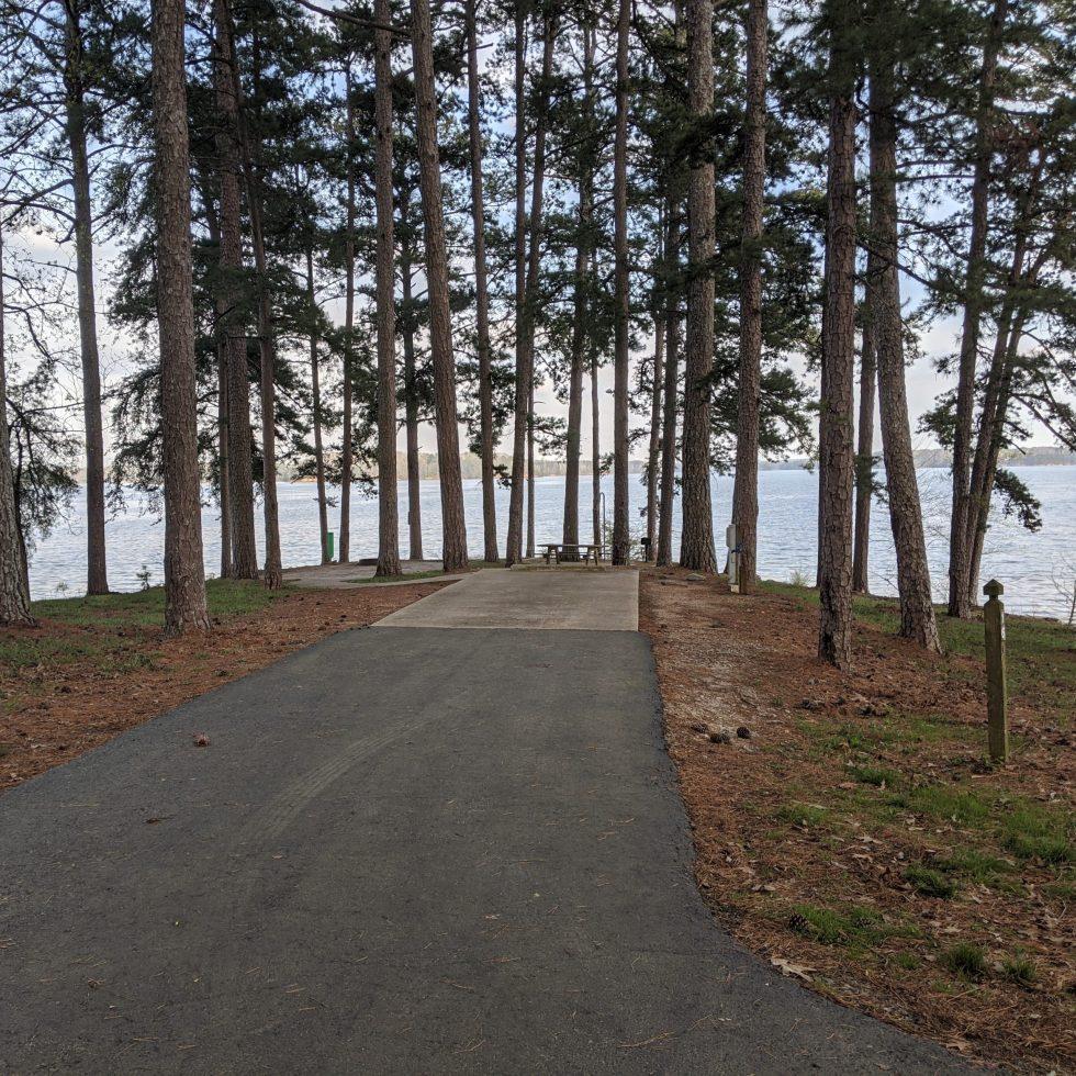 Sawnee campground site 16