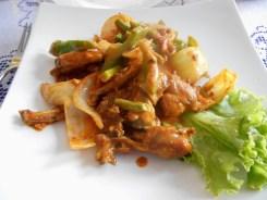 Cambodian cuisine frog legs
