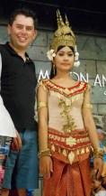 Aspara dancer Siem Reap, Cambodia