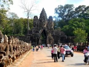 Angkor Thom Entrance, Cambodia