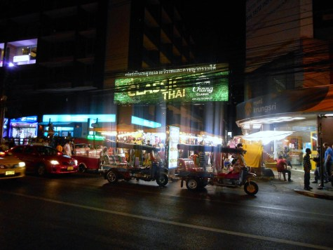 Entrance to the Patpong night market in Bangkok - a place where you can buy just about anything.