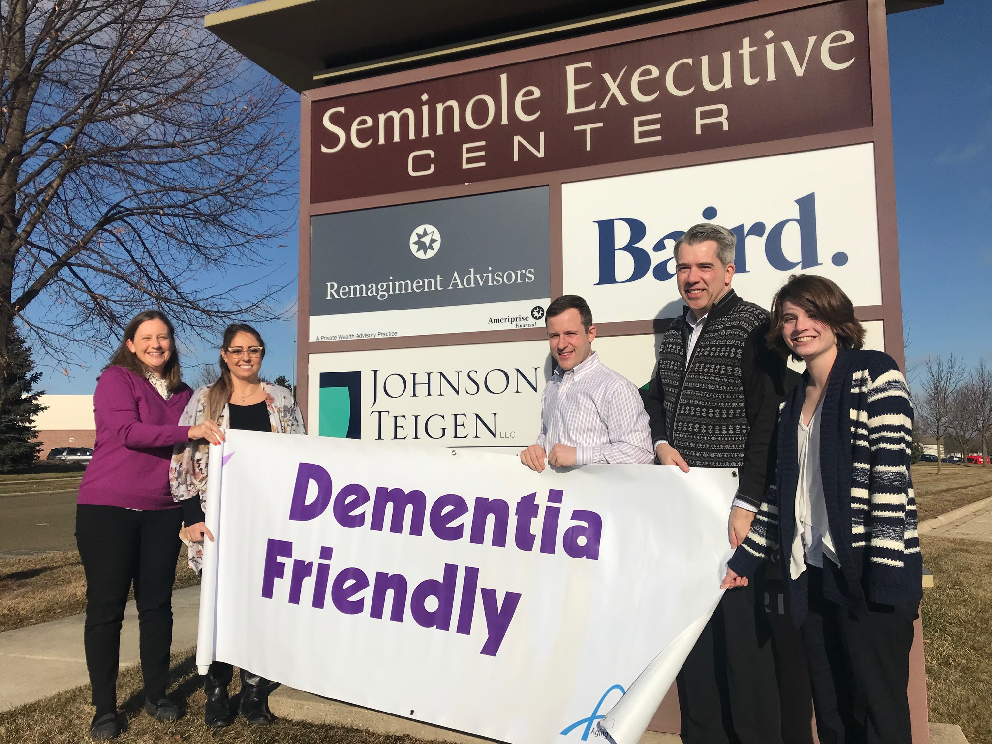 Johnson Teigen Is Dementia Friendly