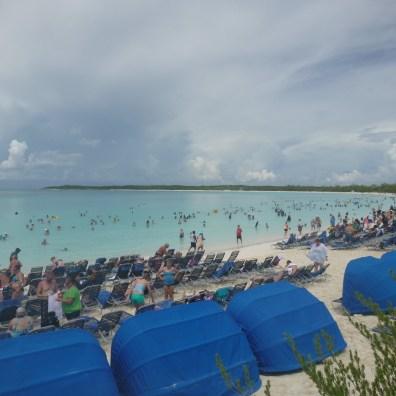 Carnival Conquest - Beach View - Half Moon Cay