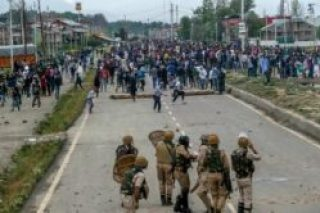 Srinager,Kashmiri Protesting against India