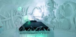 Image result for Canada's icy hotel opens for tourists