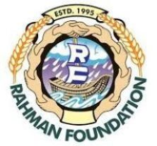 Rehman Foundation motto Save lives Save humanity