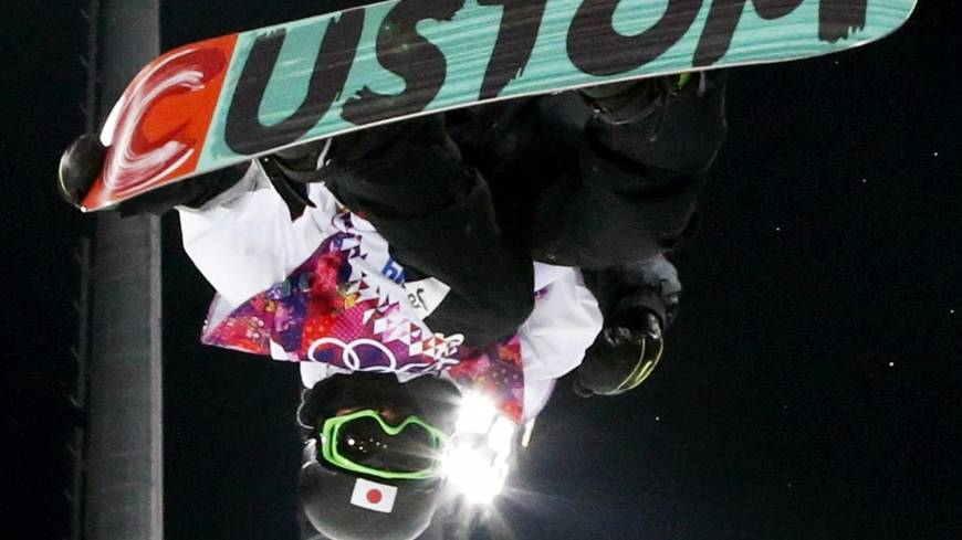 Boys to men: 15-year-old Ayumu Hirano, Japan's youngest Olympian, shows what he's made of in the men's snowboard halfpipe final of the 2014 Sochi Olympics.