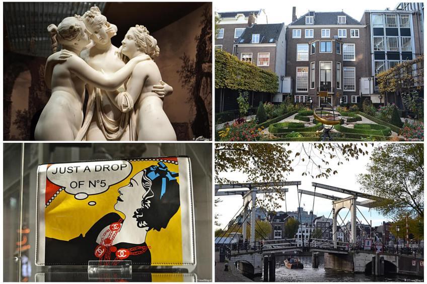 Uitje naar Amsterdam in het kader van mijn therapie met de Hermitage, Museum Willet-Holthuysen, Tassenmuseum Hendrikje en de grachtengordel