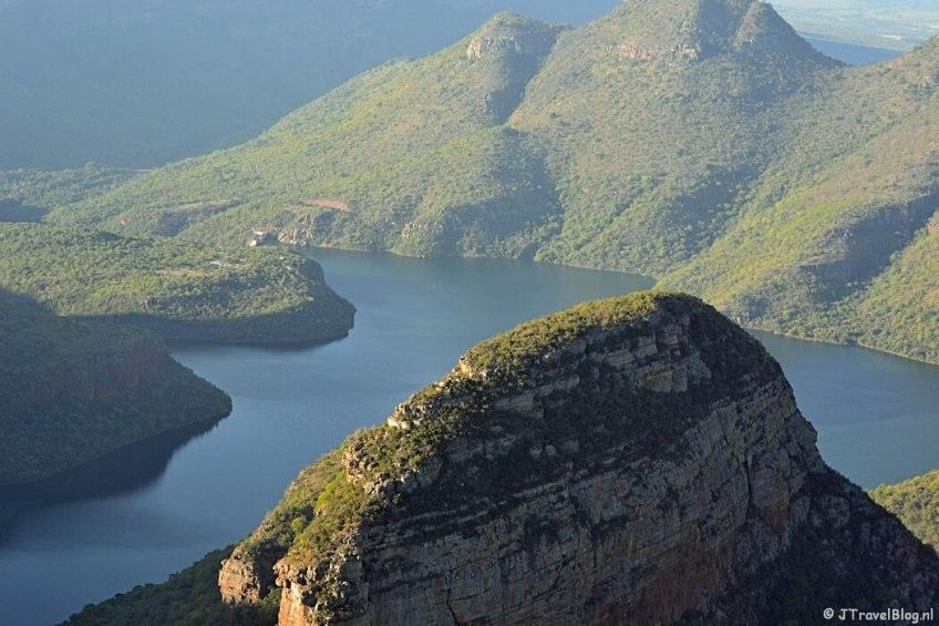 Blyde Rivier Canyon aan de Panoramaroute in Zuid-Afrika