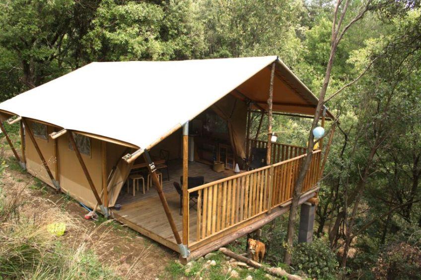 Boomhut in Vialas/Frankrijk via Natuurhuisje.nl