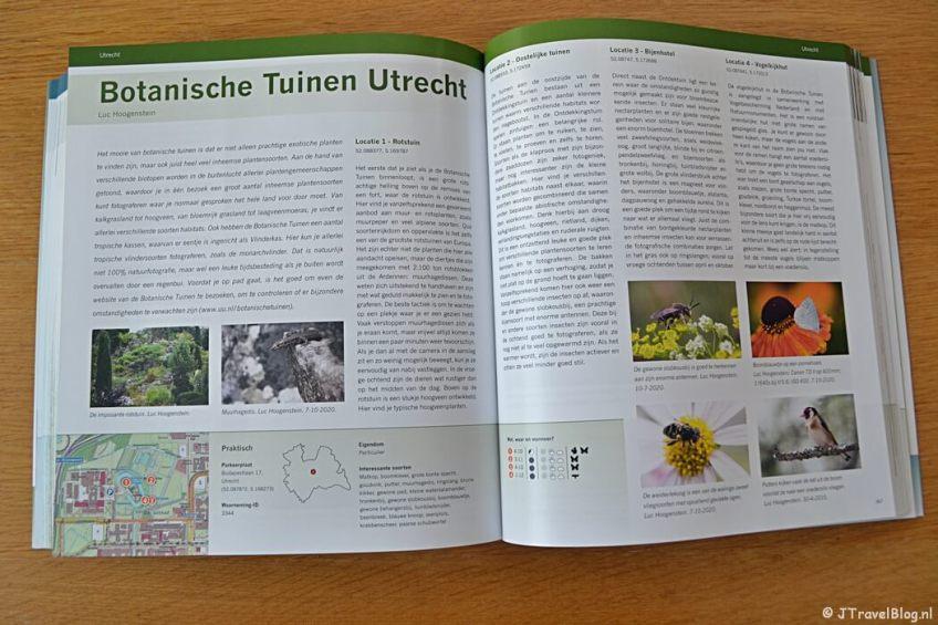 De Botanische Tuinen Utrecht in het boek 'De mooiste fotolocaties van West-Nederland'