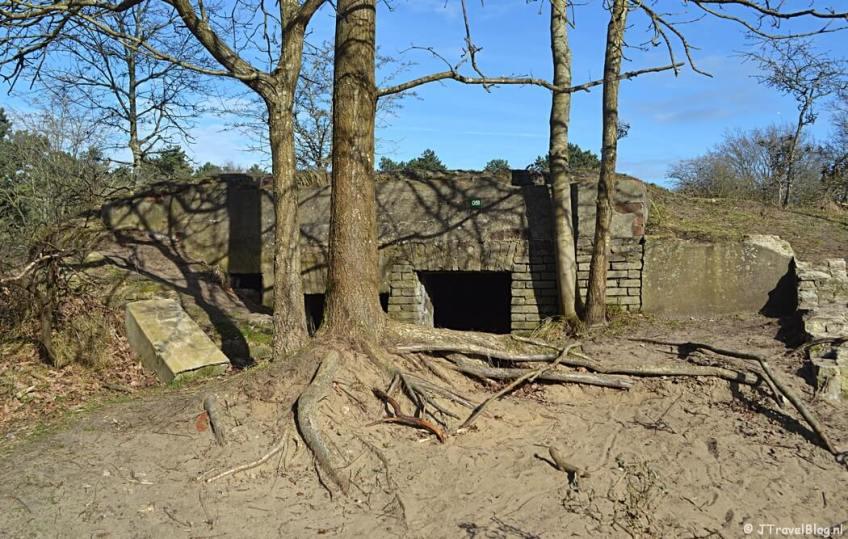 Bunker nr. 51 tijdens de bunkerroute in de Amsterdamse Waterleidingduinen