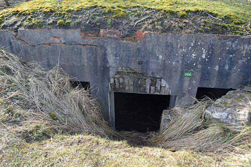 Bunker nr. 66 tijdens de bunkerroute in de Amsterdamse Waterleidingduinen