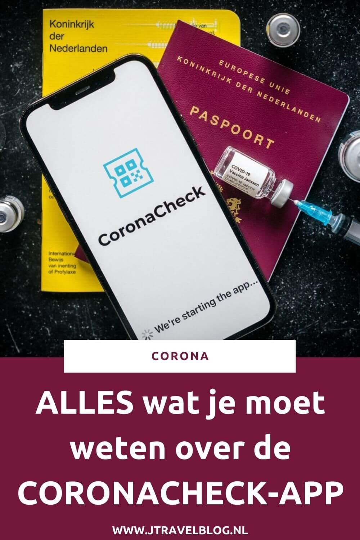 In deze blog vertel je alles wat je moet weten over de CoronaCheck-app. Vanaf 24 juni 2021 is de CoronaCheck-app beschikbaar, een app die we deze zomer nodig hebben om binnen Europa te reizen en om evenementen te kunnen bezoeken. #coronacheckapp #corona #covid-19 #coronavirus #jtravelblog #jtravel
