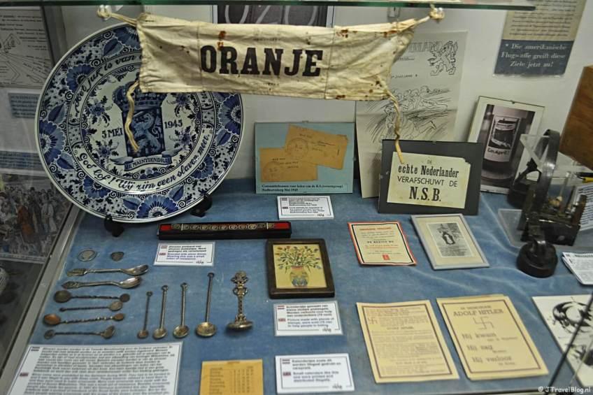 Voorwerpen in het CRASH Luchtoorlog- & Verzetsmuseum '40-'45 in Aalsmeerderbrug