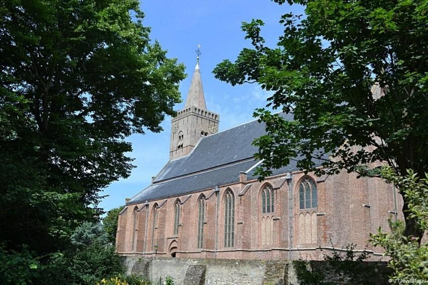 De Burghtkerk in Den Burg op Texel