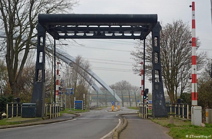 De Hakkelaarsbrug tijdens de 4e etappe van het Westerborkpad