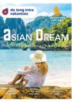 Gratis de Asian Dream reisgids bestellen bij De Jong Intra Vakanties