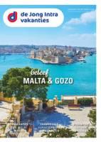 Gratis de Malta & Gozo reisgids bestellen bij De Jong Intra Vakanties