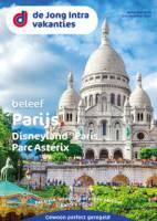 Gratis de Parijs reisgids bestellen bij De Jong Intra Vakanties