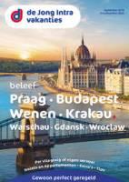 Gratis de Praag/Budapest/Wenen/Krakau reisgids bestellen bij De Jong Intra Vakanties
