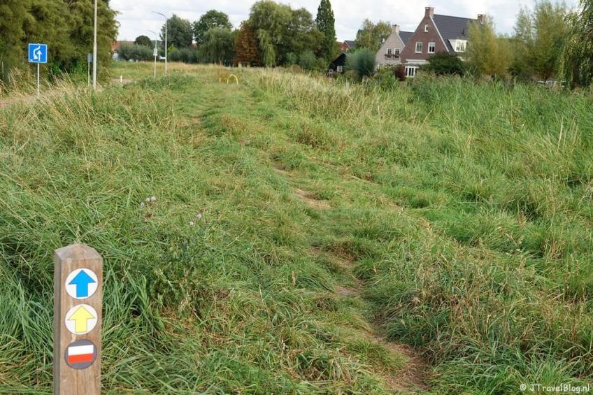 De Vuurlijn tijdens mijn wandeling van het Fortenpad van Wandelnetwerk Amstelland/Noord-Holland